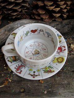 Rita's Vintage Fortune Teller's Tea Cup  by RitaSpiritualGoods