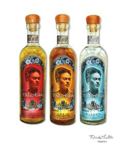 the Frida Kahlo Tequila. Frida Kahlo Tequila, made in Jesus Maria, in the highlands of Jalisco, Mexico from 100 percent pure blue agave
