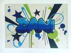 #PinkyArt #Dani #Graffiti