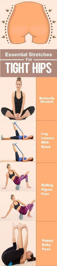 8 Best Stretches for Tight Hips