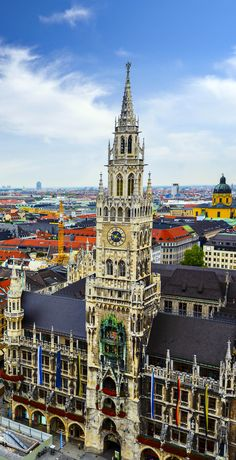 New City Hall building at Marienplatz in Munich, Germany   |   23 Fascinating Photos that Will Remind You How Incredible Germany Is