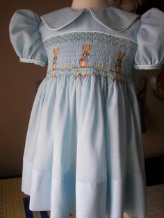 Smocked Dress - Peter Rabbit
