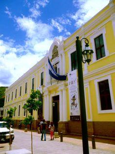 Museo de la Identidad Nacional, formerly the Palace of Ministries. Tegucigalpa, Honduras