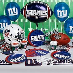 GO GIANTS!    New York Giants Homegating Party Kit at HSN.com