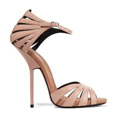 On SALE at 63% OFF! Patent-leather Sandals by Giuseppe Zanotti. Italian sizing Giuseppe Zanotti neutral sandals . Heel measures approximately 135mm/ 5.5 inches . Patent -leather . O...