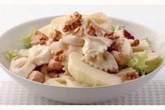 Kijk wat een lekker recept ik heb gevonden op Allerhande! Lauwwarme pastasalade met mosterddressing