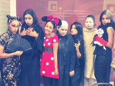 Bored of being nice and sweet (and fashionable of course!), the iDiva girls pulled out their evil side at the office Halloween bash. From adorably cute to nightmarishly scary, we have it all. Check out the Halloween pictures and tell us what you think in the comments below. Don't Miss: 7 Wickedly Clever Last-Minute Halloween Costume Ideas