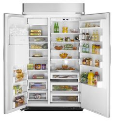 KitchenAid ® : Refrigerador Empotrable Side by Side 42