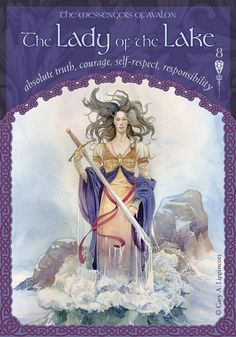 8 The Lady of the Lake; Wisdom of Avalon; Colette Baron-Reid
