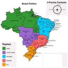 Portuguese Lessons, Learn Portuguese, Portuguese Language, Action Verbs, New World Order, Study Notes, Geography, South America, Homeschool