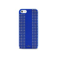 iPhone 5 Rock Cover #rock #punk #blue #studs #puro #puroitalianstyle