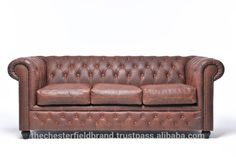 Check out this product on Alibaba.com APP Vintage Brown Chesterfield Sofa