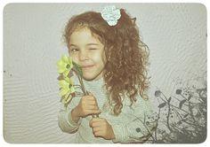 ☆ casa cherry ☾: Faça você mesmo: Flores para cabelo