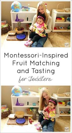 A sequence of fun sensory and vocabulary fruit activities for toddlers. Post includes YouTube video and Montessori Monday permanent collection.