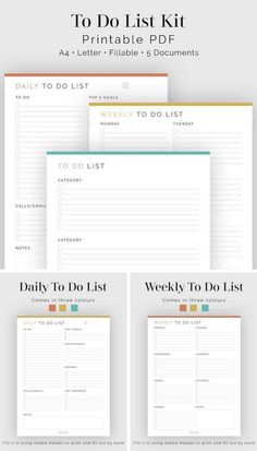 This will help me keep track of everything I have to do on each day so I don't get overwhelmed thinking of everything and then not get anything done! Being organized with time is just as important as knowing what to do, and when to do it!