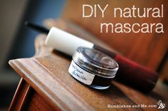 DIY Projects, Homemade Body Product Recipes, Titanic Costumes, and Tasty Food | Humblebee & Me · DIY Natural Clay Mascara (that actually works)