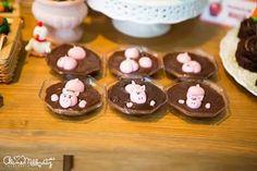 Pig + chocolate