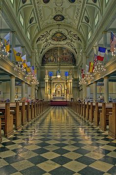 St. Louis Cathedral - NOLA gorg in there! And lighting a candle is a must;)
