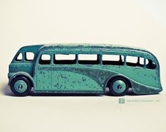 vintage toy dinky bus