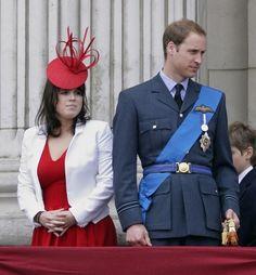Princess Eugenie of York & Prince William of Wales