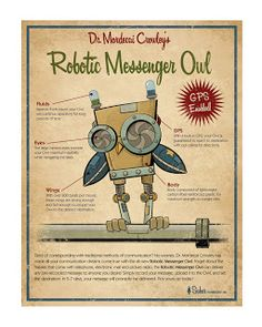 Michael Murdock - Illustration blog.: Retro Owl Art Print