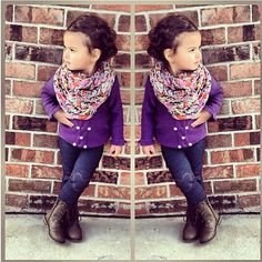 LOVE the outfit!! This girl is absolutely adorable!