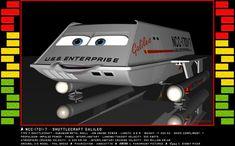 Pixar Star Trek Shuttlecraft