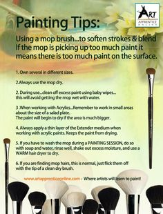 ~Painting tips~