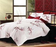 japanese cherry blossom bedding set - Google Search