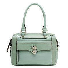 Mint Green Locket Bag