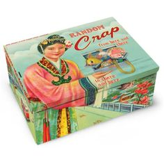 Cigar Tin- Random Crap by Blue Q £12.95