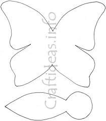 butterfly template for sewing - Google Search