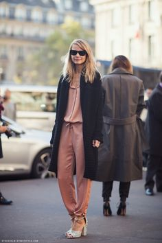 mixing the comfortable with the sparkly ... via stockholmstreetstyle