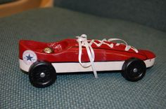 Converse Pinewood Derby Style