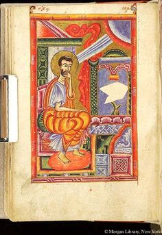 Gospel book, MS M.749 fol. 97v - Images from Medieval and Renaissance Manuscripts - The Morgan Library & Museum