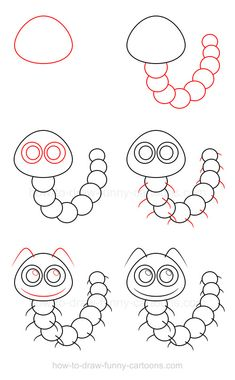 Learn how to draw a caterpillar and see why this cute insect is so much fun to illustrate!