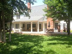 Eleven Gables: Eleven Gables: back porch living