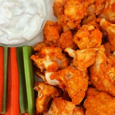 Mind Over Munch | Buffalo Cauliflower Bites