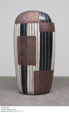 Jun Kaneko - Dango 10-07-04 | From a unique collection of abstract sculptures at http://www.1stdibs.com/art/sculptures/abstract-sculptures/