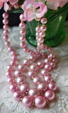 divinespirit3:  (via Pin by ♥ The Rose Garden ♥ on ٠•●♥ Pearls Très Chic •●♥   Pinterest)