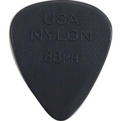 Dunlop Nylon Standard Pick Packs, .88mm/Gray by Jim Dunlop. $16.10