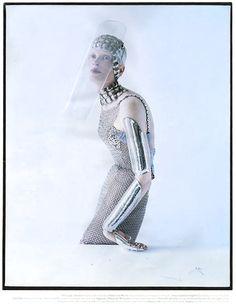W Magazine, September 2012 Photographer / Tim Walker Stylist / Jacob K Lynn Ban Jewelry / Sterling Silver Smooth Armor Ring