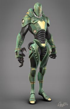 Shatis Picture (3d, sci-fi, character, robot) - Gorgeous suit!