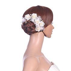 Topwedding Flor de seda del pelo Horquilla Peine nupcial de la boda Tiaras Perlas y Cristales Topwedding http://www.amazon.es/dp/B00M0E77QO/ref=cm_sw_r_pi_dp_rY..tb1S10A63
