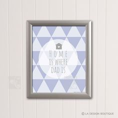 DAD Typography Art Father's Day Gift for $5 only Home by LaDesignBoutiqueShop