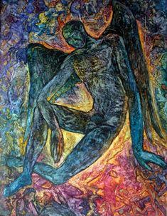 Title: Fallen Angel (2) Artist: Vasiliy Lukonin Style: Symbolism Genre: Mythological genre Medium: Watercolor on paper Size(cm): H80*W60 Year: 1992 Country: Uzbekistan Edition: Original, handmade . Visit our website, www.exquisite-art.com to see the art pieces that we have. . #art #pic #oil #artoftheday #arts #asia #store #online #artist #gallery #artwork #picture #handmade #painting #original #modernart #paintwork #singapore #onlineshop #artgallery #onlinestore #canvas_arts #exquisiteart…