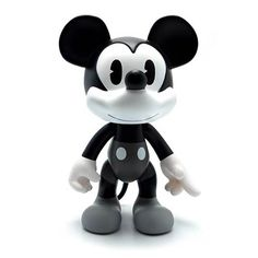 Mickey Mouse Black and White Polychrome Vinyl Figure