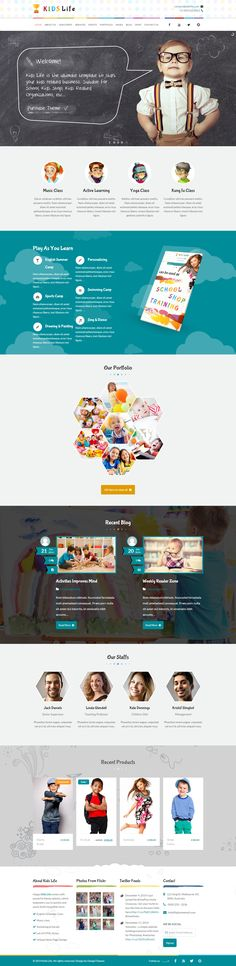 Kids Life is Premium Responsive Retina WordPress Kindergarten Theme. Drag and Drop. Bootstrap Framework. Parallax Scrolling. Test free demo at: http://www.responsivemiracle.com/cms/kids-life-premium-responsive-kindergarten-wordpress-theme/