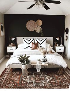 Quirky Home Decor .Quirky Home Decor Home Decor Bedroom, Bedroom Wall, Bedroom Ideas, Grey Brown Bedrooms, Modern Bedroom, Black Master Bedroom, Gothic Bedroom, Master Bedroom Design, Contemporary Bedroom