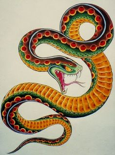 Image result for snake tattoo